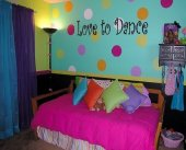 Polka Dot Designs, bedroom decorating ideas for girls, bedrooms, boys bedrooms ideas, bedroom decor ideas, kids rooms, childrens rooms, girls bedroom, decorating kids rooms, girls bedrooms decor, teen girls room