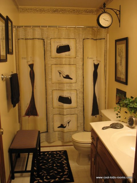 Bathroom decor ideas for teens for Bathroom motif ideas