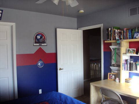 new york giants bedroom