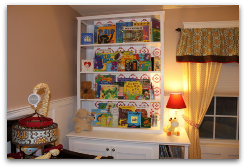 Emma's nursery, picture of nursery, nersery decorating ideas