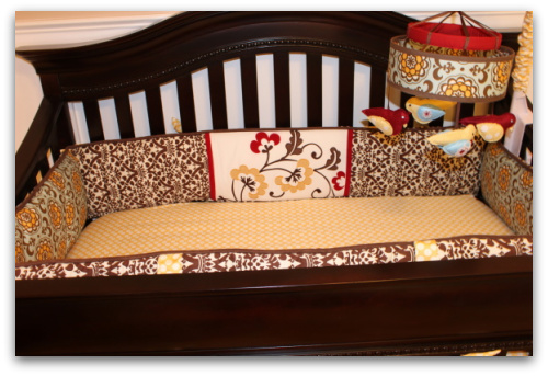Emma's nursery, picture of nursery, nursery decorating ideas