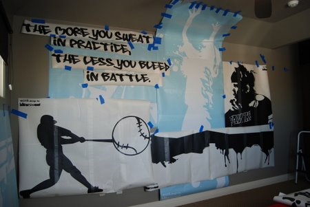 Teenage Room Ideas on Room  Sports Graffiti Room  Teen Boys Bedrooms  Boys Bedrooms Ideas