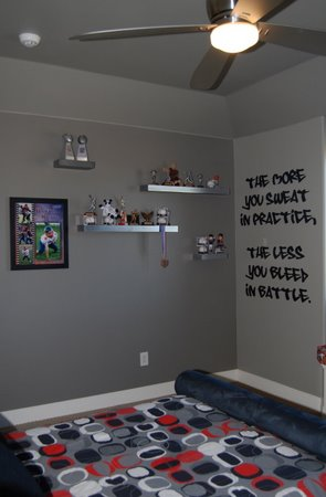 Sports Graffiti Bedroom