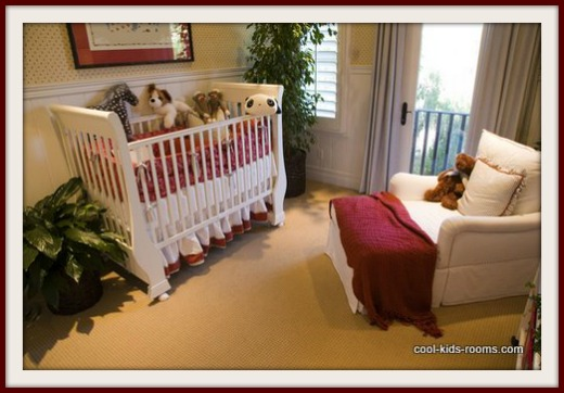 Red, Yellow and White Nursery