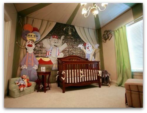 Circus Themed Nursery