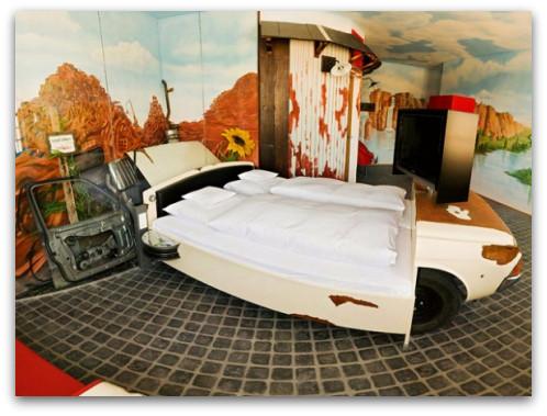 Coo Bedroom at V8 Hotel in Germany