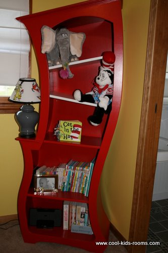 Dr Seuss bookcase