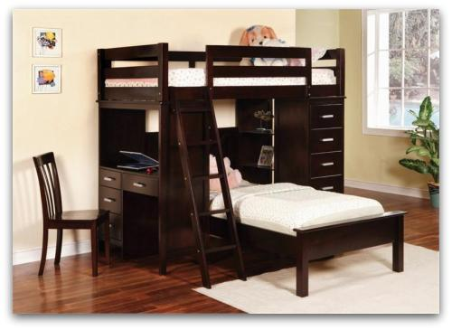 Bunk Bed With Workstation Desk From My New Furniture Store