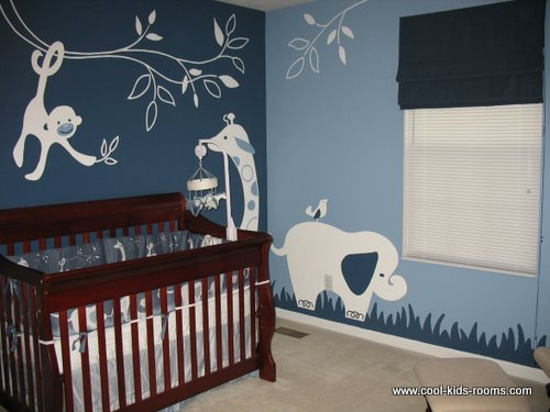 Jungle theme nursery ideas for Nursery theme ideas