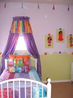 girls bedroom, wall decor, kids rooms