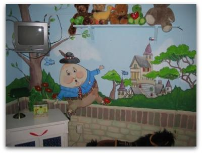 Mother Goose Nursery Decor