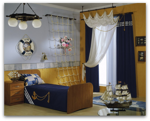 Nautical decorating ideas nautical wall decor for Bedroom ideas nautical