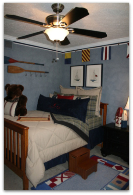 nautical kids decor, nautical wall decor