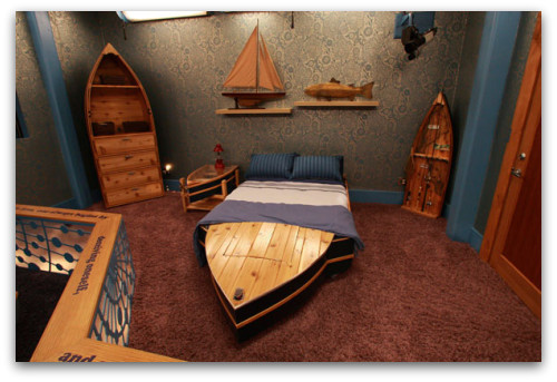 nautical furniture decor. Nautical Furniture, Boat Bed, Shelves Furniture Decor