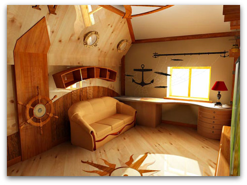 nautical room décor, nautical wall decor