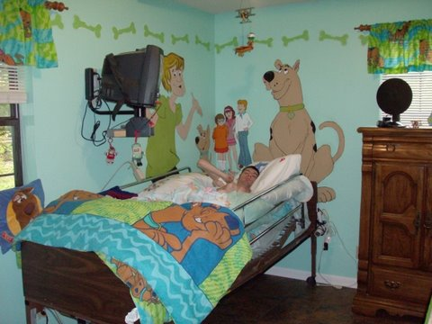 Room decor for kids with physical disabilities, special needs