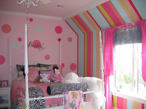 Coordinated paint colors kidsrooms 2013 for Paint colors for kids bedrooms