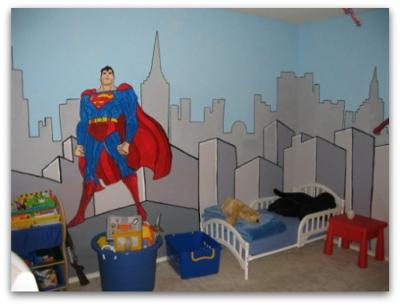 Super Heroes Decor