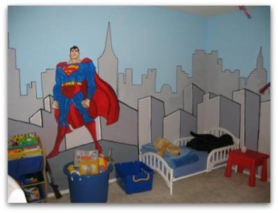 Super Heroes Decor