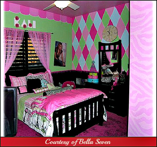 Wall Ideas  Bedroom on Wall Decorating Ideas  Kids Rooms  Wall Decor  Girls Room
