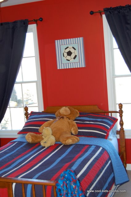 Sports themed room - Toddler boy sports room ideas ...