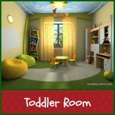 Toddler's room decor