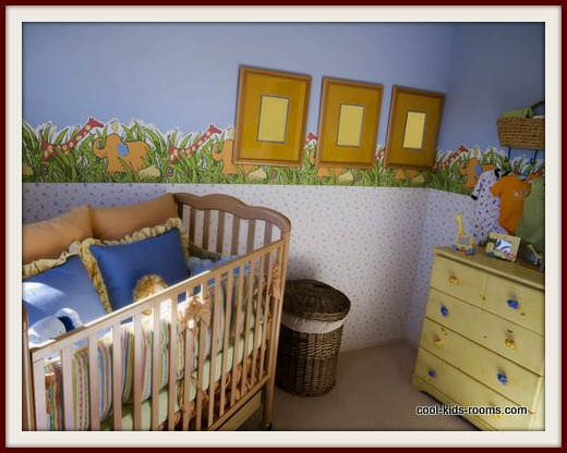 Safari Themed Baby Room