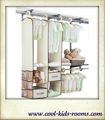 Nursery closet organizer, Closet organization systems