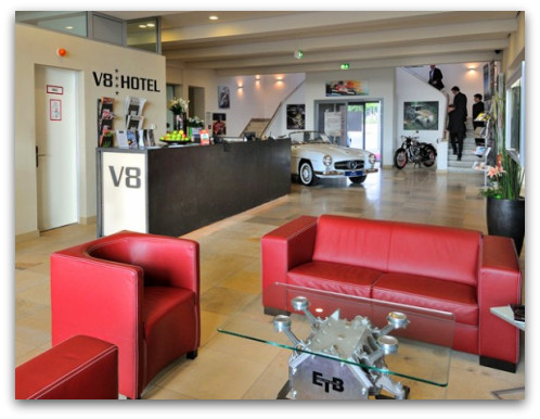 V8 Hotel in Germany