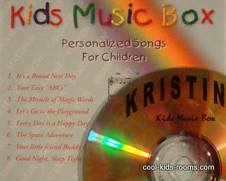Personalized Childrens Songs. Kids Music Box