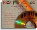 personalized cd, kids music box