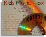 personalized cd, kids music box