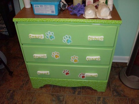 painted furniture, kids rooms