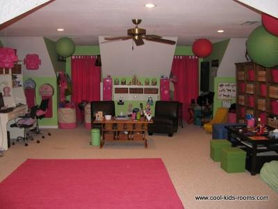 Playroom Decorating Ideas for Girls by Sharon Arnold