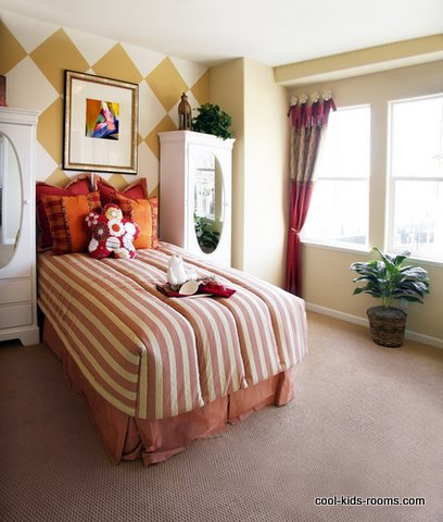 checkerboard designs, room painting ideas, bedroom painting ideas, colors to paint a room, kids rooms