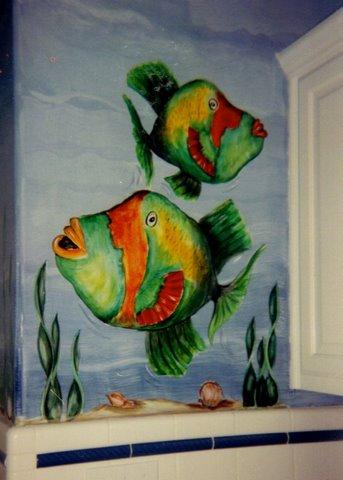 underwater theme, kids rooms decor, room painting ideas, bedroom painting ideas, colors to paint a room