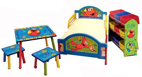 Sesame Street furniture from Amazon