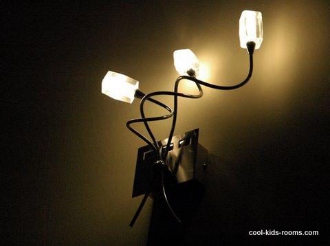 Hanging wall lamp