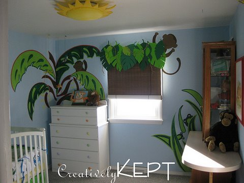 painting wall murals, wall murals, nursery, baby room